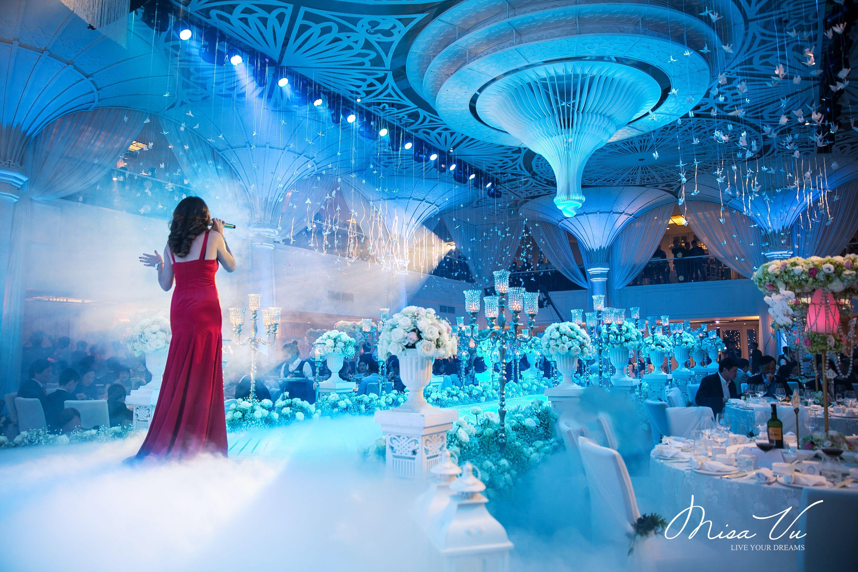 Entertainment | Angelic - Nam&Ngoc #misavuluxuryevents #MisaVu #Decorations #Angelic #Wedding #luxury #white #events #stage #aisle #architecture #party #space #moments