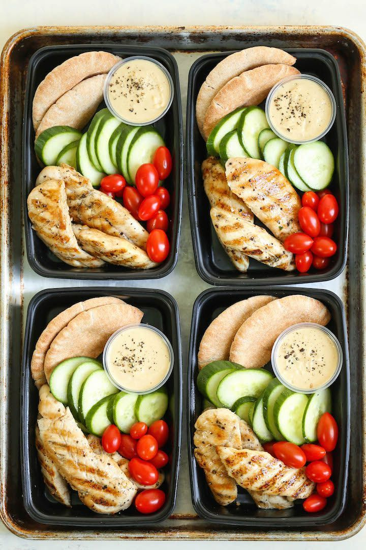 Copycat Starbucks Chicken and Hummus Bistro Box  Meal prep for the week ahead Filled with hummus chicken strips cucumber tomatoes and wheat pita