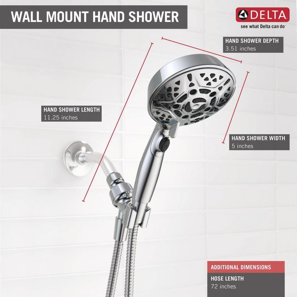 Delta Faucets 75716 7 Spray Head Shower Head Handheld H2okinetic
