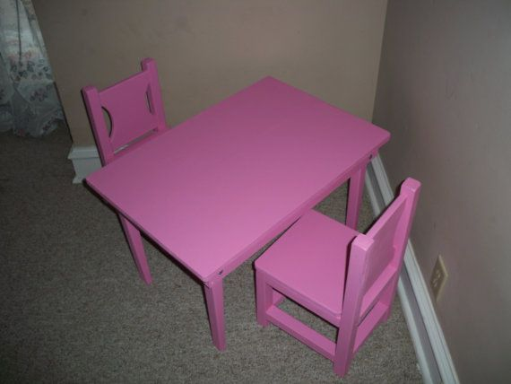 Amazing Kids Table And Chairs Table 30 By 20 5 By 18 Inches Tall Short Links Chair Design For Home Short Linksinfo
