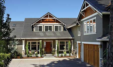 plan 69065am: classic craftsman home plan | master master, mudroom