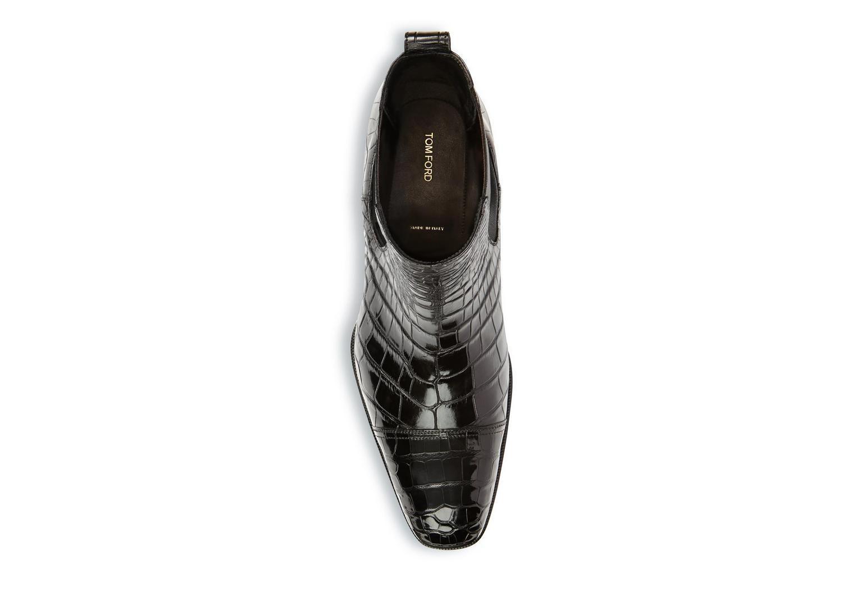 Gianni Alligator Cap Toe Chelsea Boot   Chelsea boots ...