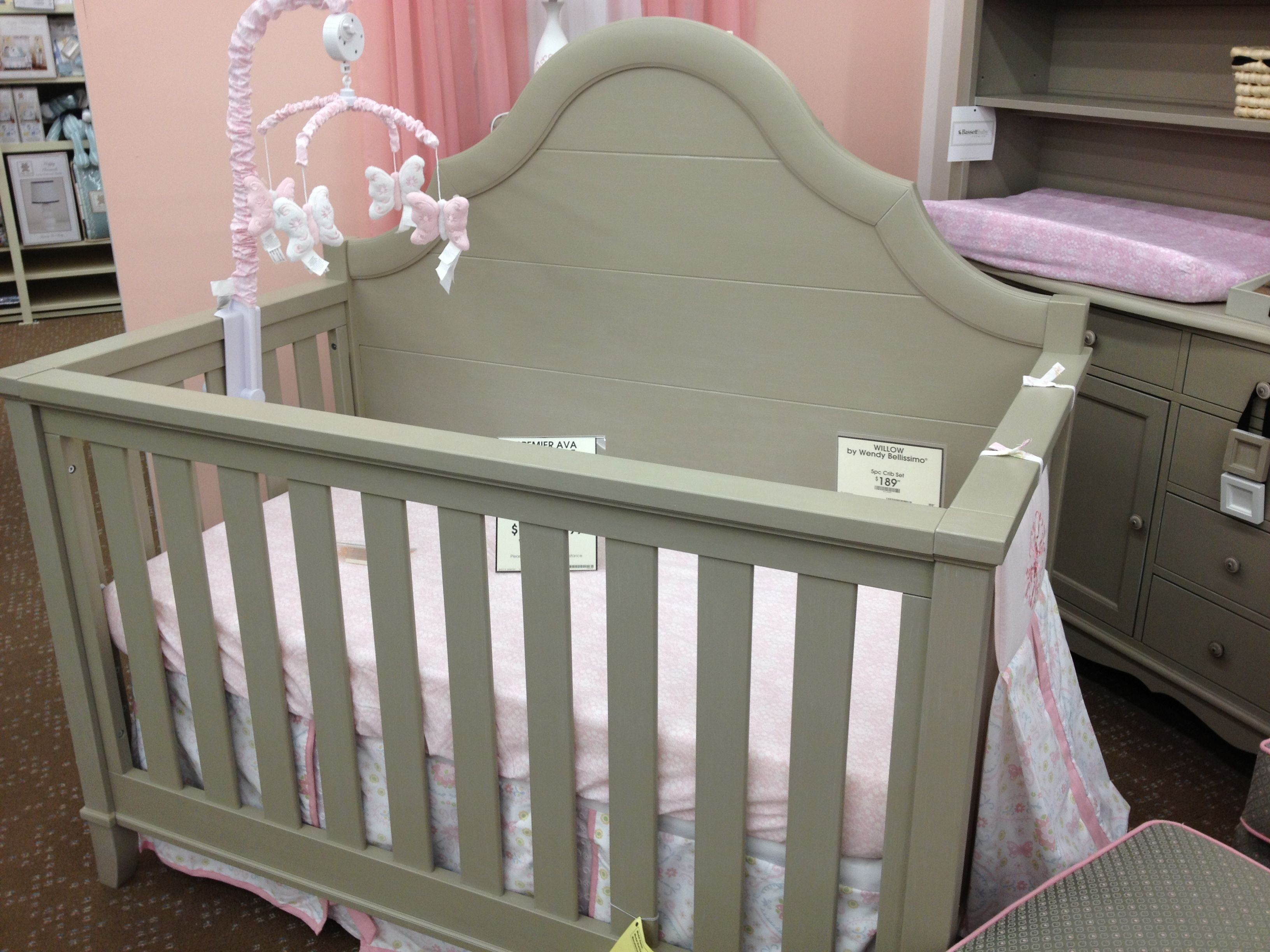 Unfinished crib for sale - Gray Convertible Crib Buy Buy Baby