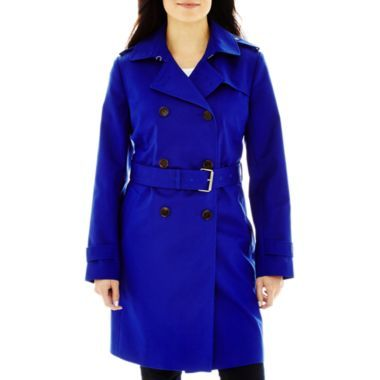 Liz Claiborne Classic Trench Coat Found At Jcpenney