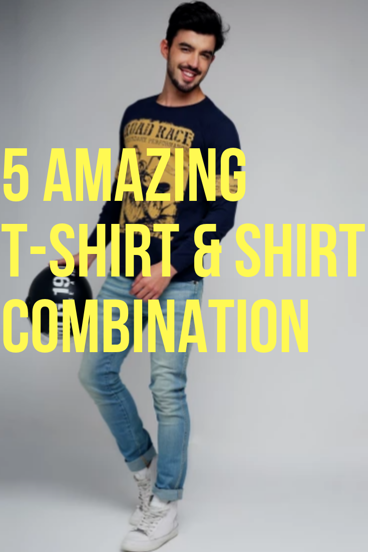 855a8af3 Shirt and Tshirt Combination Style. #combination #style #menscombiation  #jeanscombination #jeans #denim #shirt #tshirt #shirtcombination  #tshirtcombination ...
