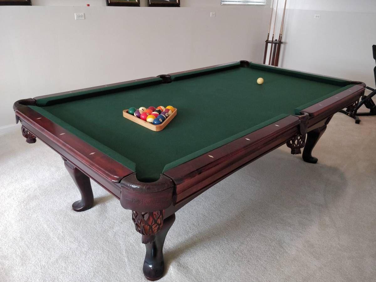 8 amf playmaster billiards pool table billiard pool