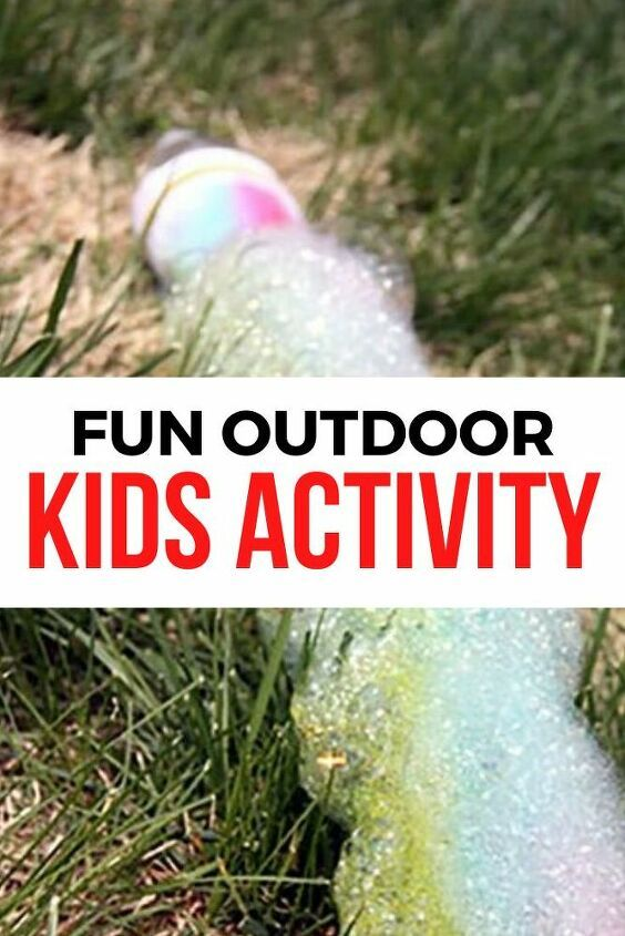 Photo of Easy and Cheap Outdoor Kids Activity Idea