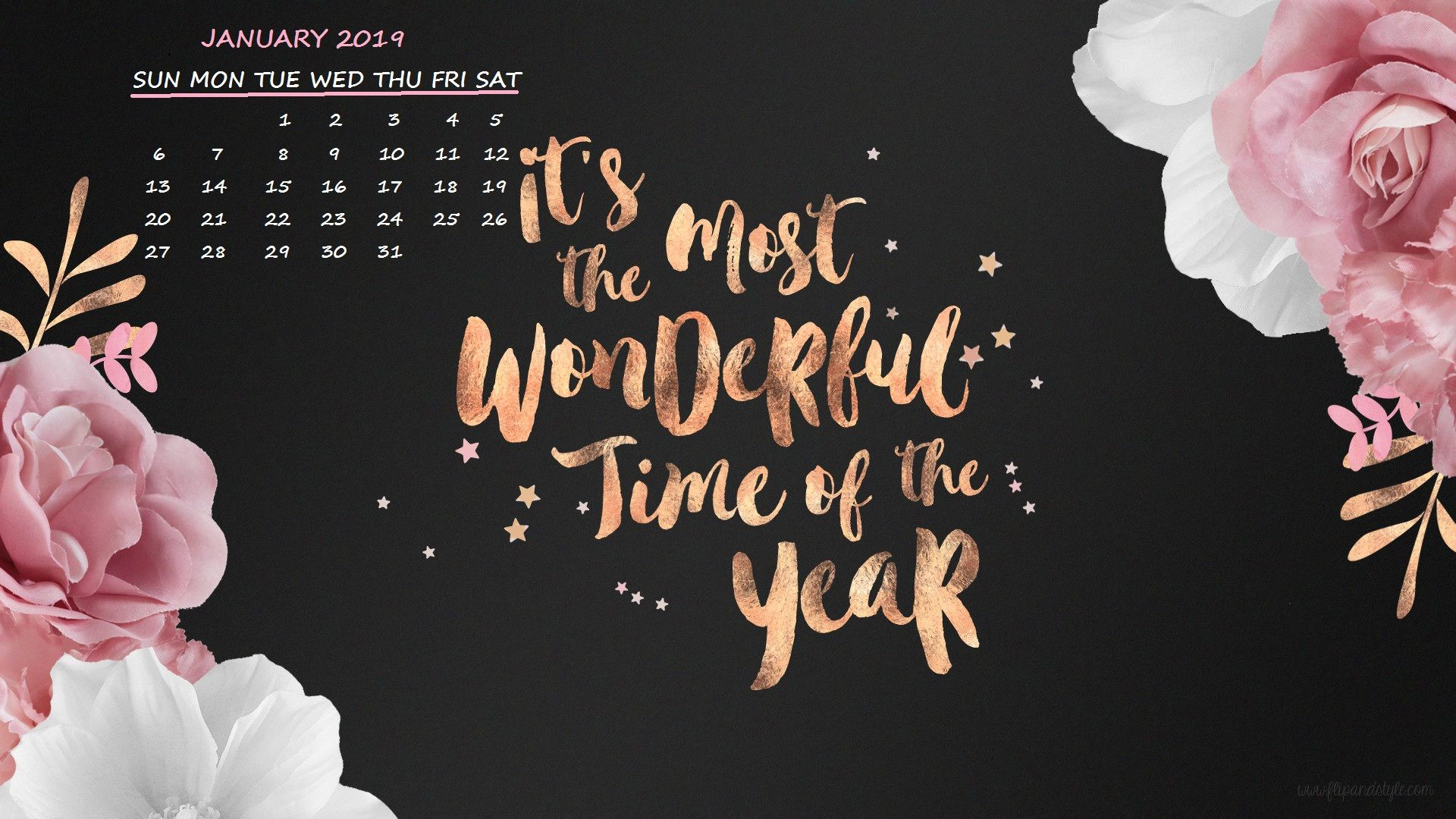 January 2019 Desktop New Year Calendar Computer Wallpaper Desktop Wallpapers Laptop Wallpaper Desktop Wallpapers Desktop Wallpaper Quotes