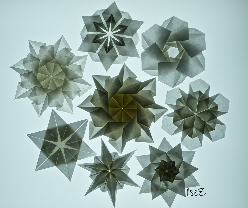 Awesome Stars And Flowers By Tomoko Fuse Shuzo Fujimoto Star Paper Wiring Cloud Oideiuggs Outletorg