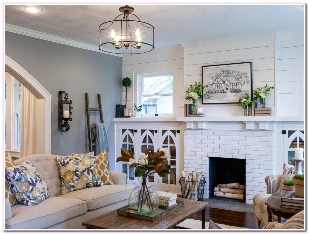 Living Room Farmhouse Decor Fixer Upper