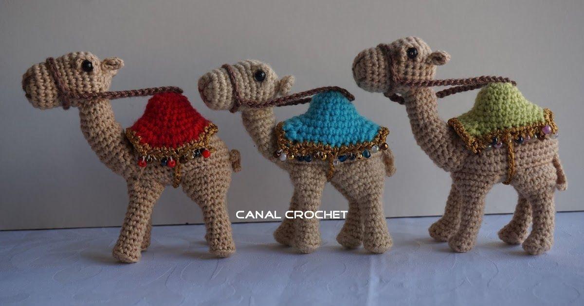 CANAL CROCHET: Camello amigurumi patrón libre.   Claudia   Pinterest ...