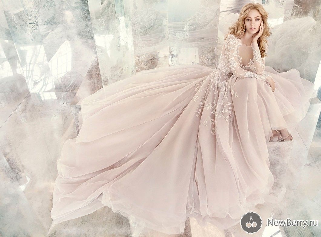 Wedding dress hayley paige by jlm couture springsummer ht