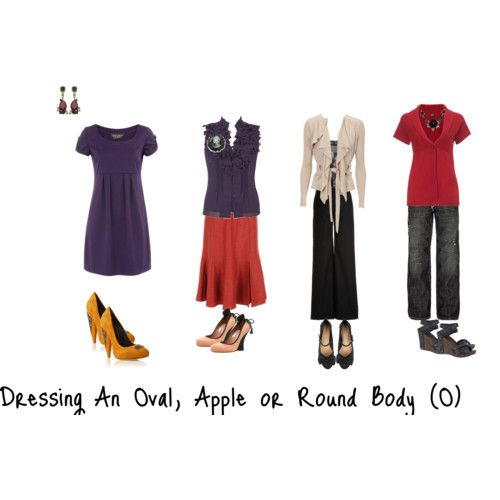 outfits for the apple shape