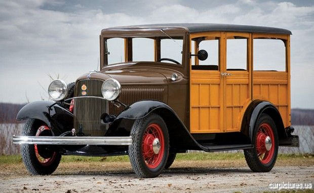 1932 Ford Model B Station Wagon Car Pictures Classic Cars Trucks Station Wagon Cars American Classic Cars