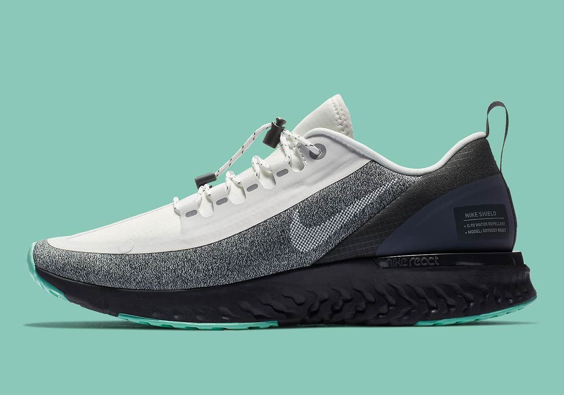 01af7886943fe Nike Odyssey React Shield AA1635-100 Release Date
