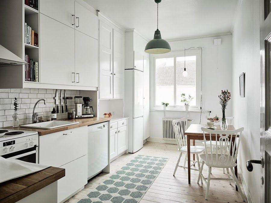 3 Estilos y 3 cocinas blancas ¿Cuál te gusta más?