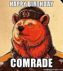 Image Result For Happy Birthday Comrade Bear Art Popular Art Art