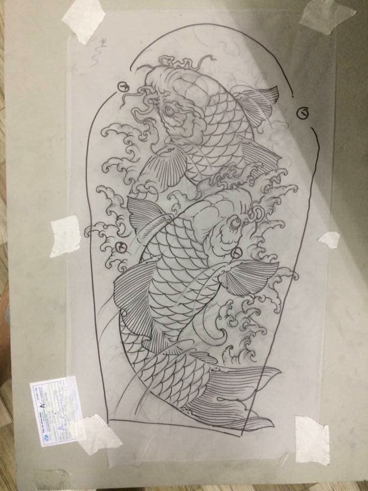 pin de israel rojas en dragon tattoo pinterest carpas koi tatuajes tradicionales y tatuaje. Black Bedroom Furniture Sets. Home Design Ideas