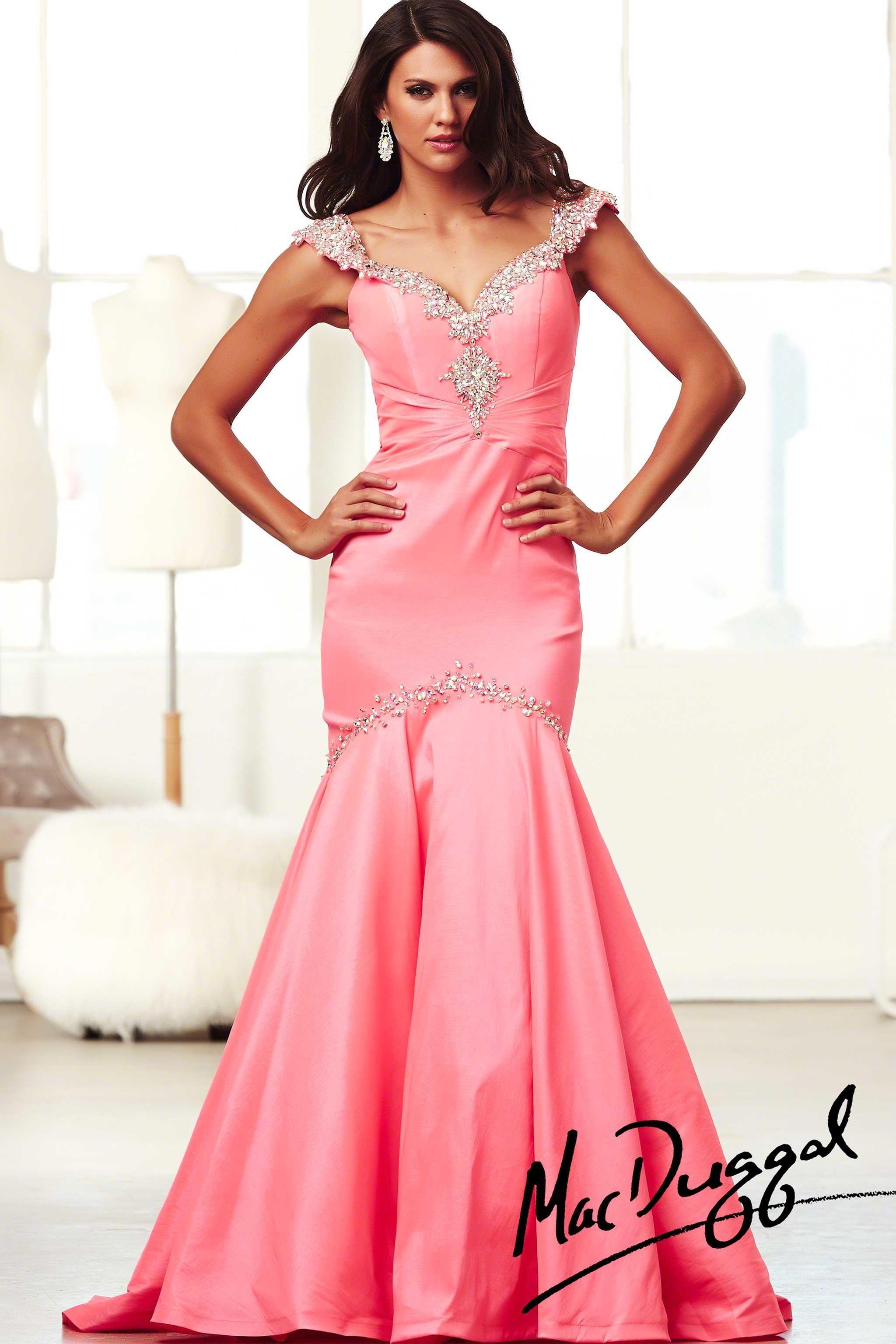 Mac Duggal Off the Shoulder Prom Dress 61615H | BRIDAL EXPRESSIONS ...