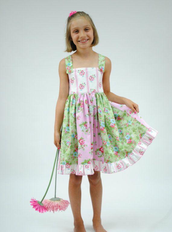 f9815f318e Girls Sundress Toddler Sundress Ruffled by HarmonyGirlsClothing ...