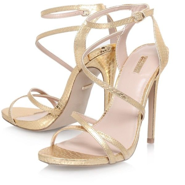 7dd966590c2 Carvela Georgia Leather Stiletto Strappy Sandals