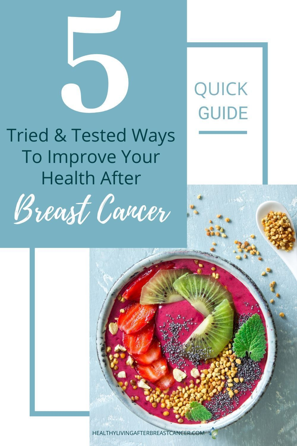 5 Tried & Tested Ways To Improve Your Health After Breast Cancer #healthyliving #breastcancer #lifeafterchemo #cancersurvivor #treatment #Healthyliving #healthylifestyle #lifeafterbreastcancer #cancercommunity #health