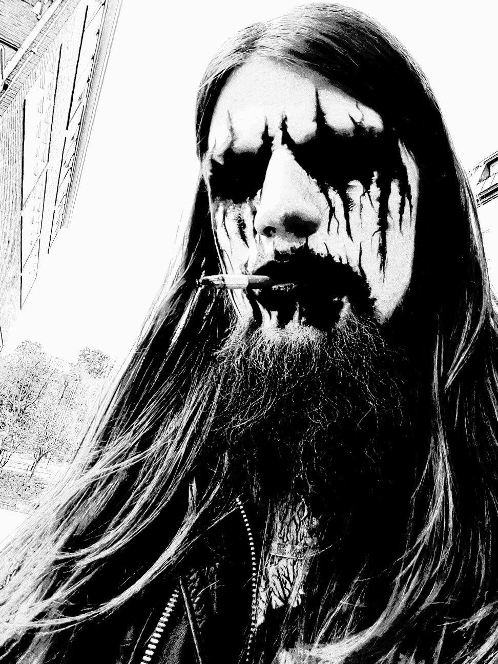Pin On Black Metal