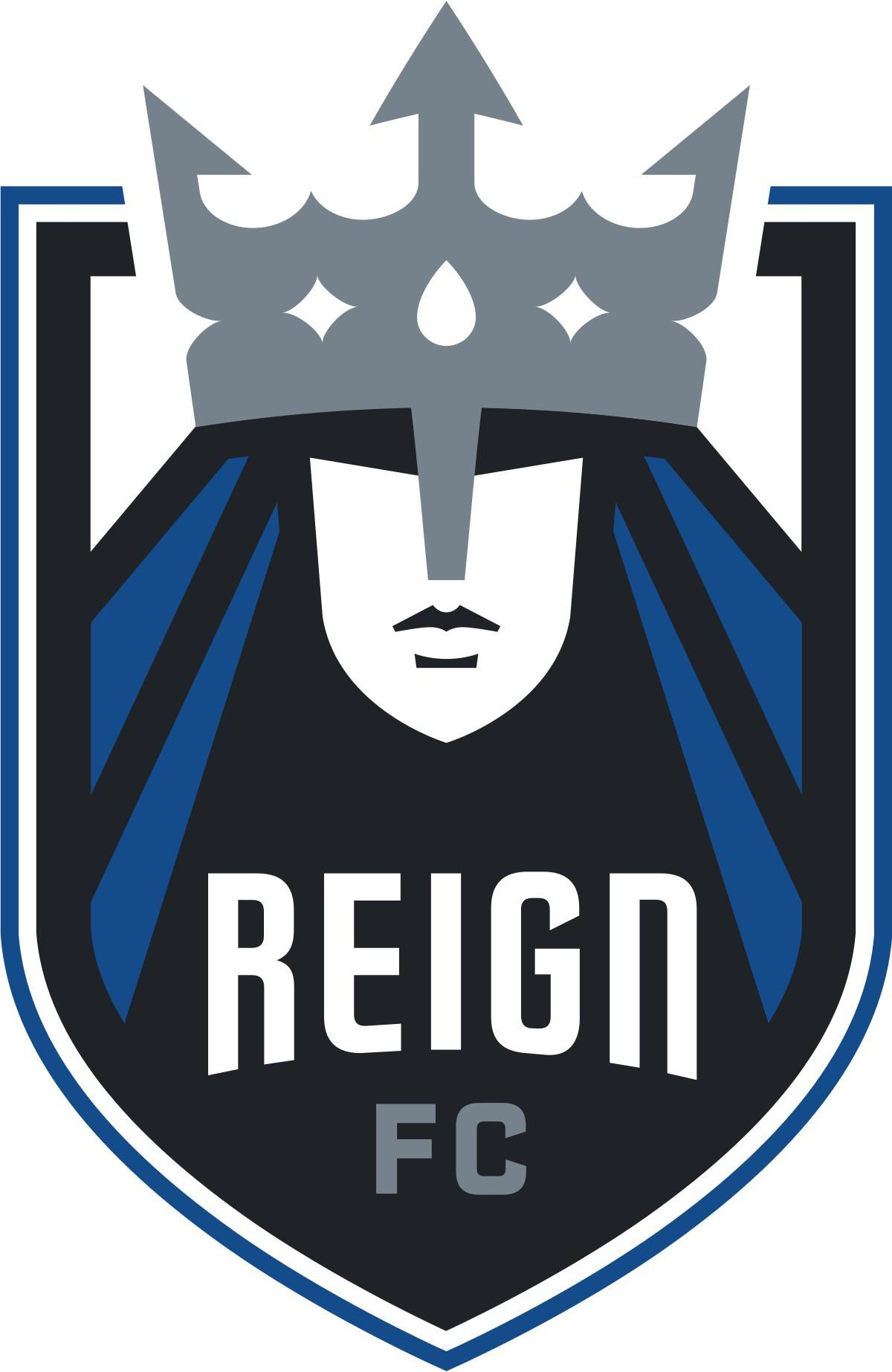 Reign Fcs Logo Simple Yet Elegant Sports Logo Design Sports Logo Soccer Logo
