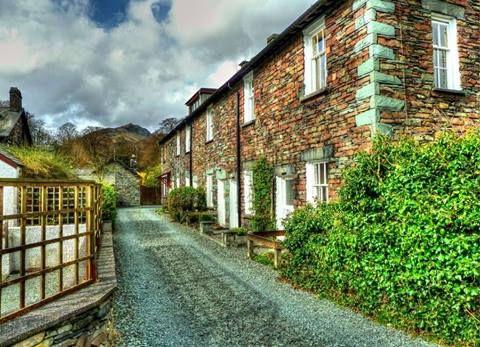 riverside cottages grasmere cumbria england cottages cute