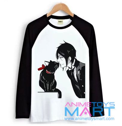 Black Butler long sleeves T-Shirt