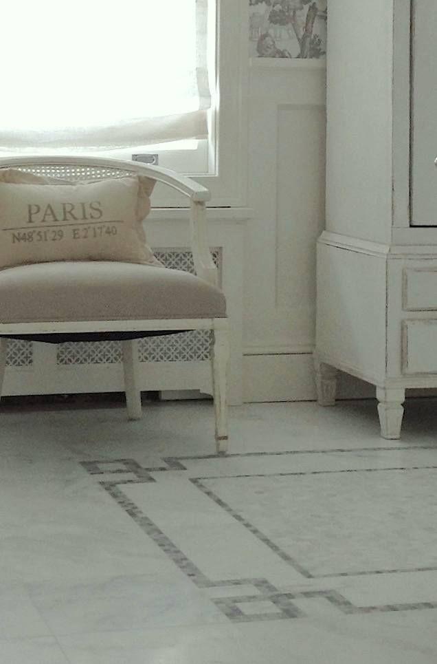 GREEK KEY designs.... dream-bathroom-greek-key-marble-floor_hottest_desing_trend_laurel_bern_interiors