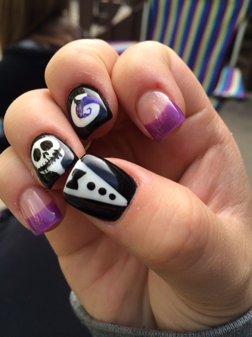 Nails Halloween of 2014, right hand