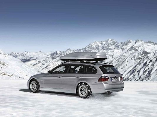 Bmw 3 Series Touring E91 Aerodynamic Package Snow