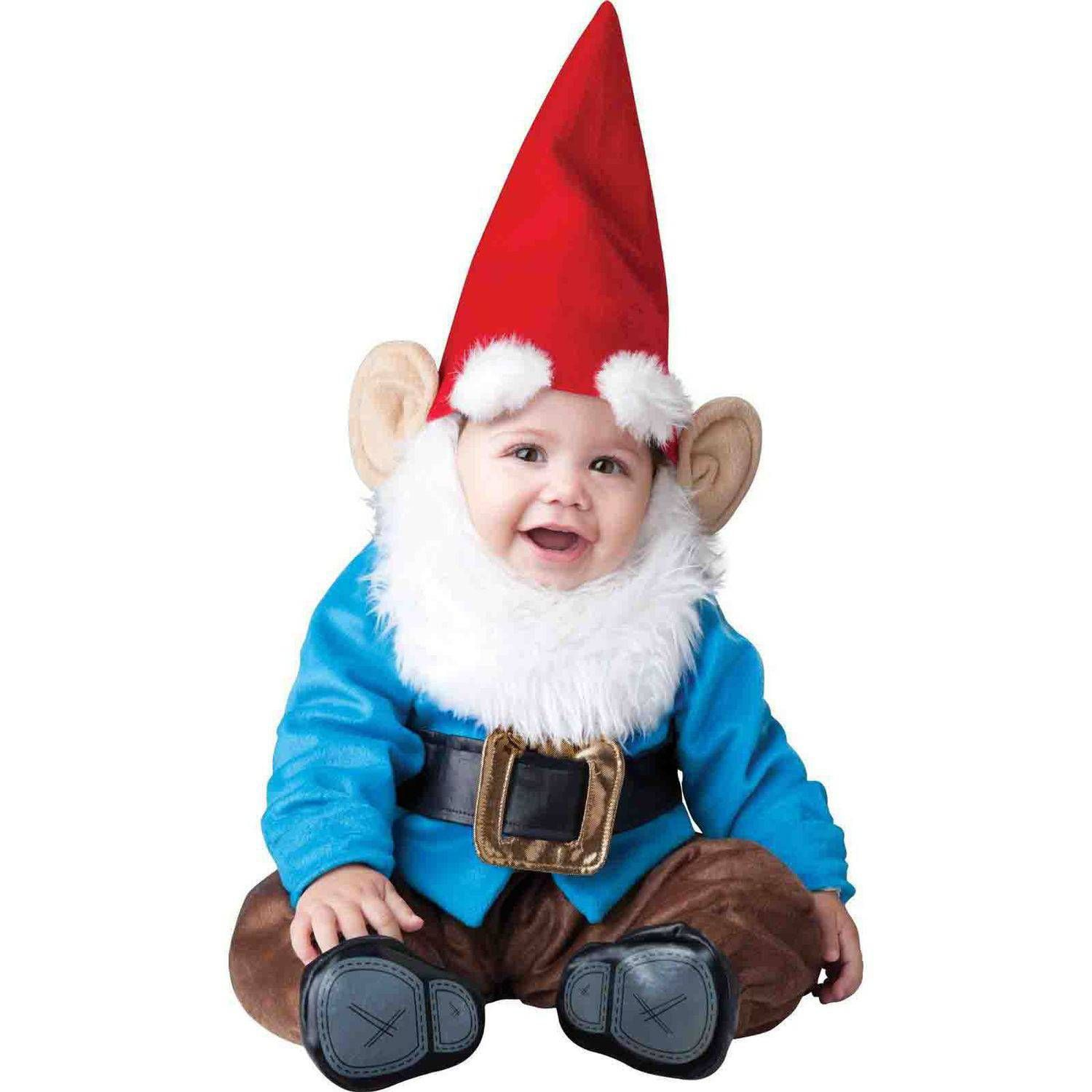 Lil Garden Gnome Infant Halloween Costume #gnomecostume