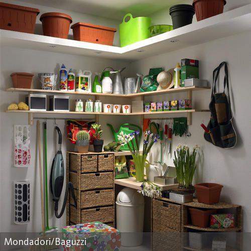 Design#5001540: Aufbewahrungsecke für gartengeräte | garage & hobbyraum, haus und .... Gartengerate Und Gartenzubehor Tipps Zur Aufbewahrung Pflege