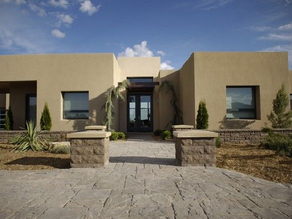 New mexico adobe style homes filed under estates for Modern adobe houses