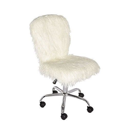 Clara Armless Office Chair Modern Office Chair White Office