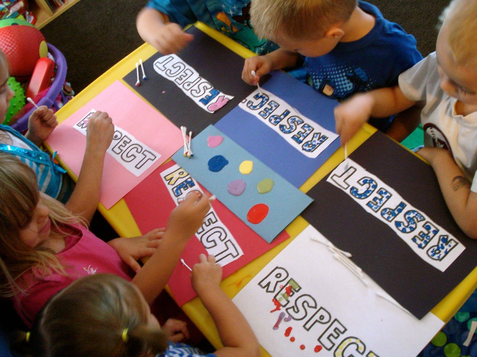 Manners Art Projects For Preschoolers