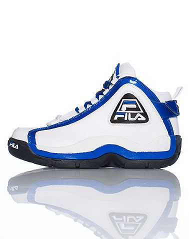 9289cc51890 FILA+Mens+high+top+sneaker+Fila+logo+on+sides+of+shoe+Padded+tongue+with+ logo+Cushioned+inner+walls+and+sole+for+comfort+and+performance