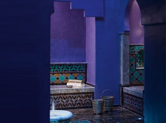 Pour un décor oriental jusque dans la salle de bain