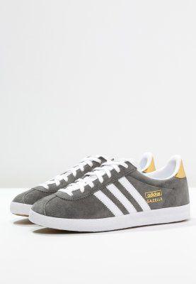 low priced c6035 6de2c adidas Originals GAZELLE - Baskets basses - ash white gold metallic -  ZALANDO.FR