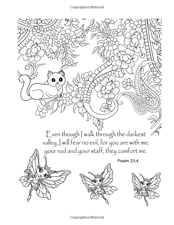 Psalms Coloring Book: An Adult Coloring Book for Your Soul ...