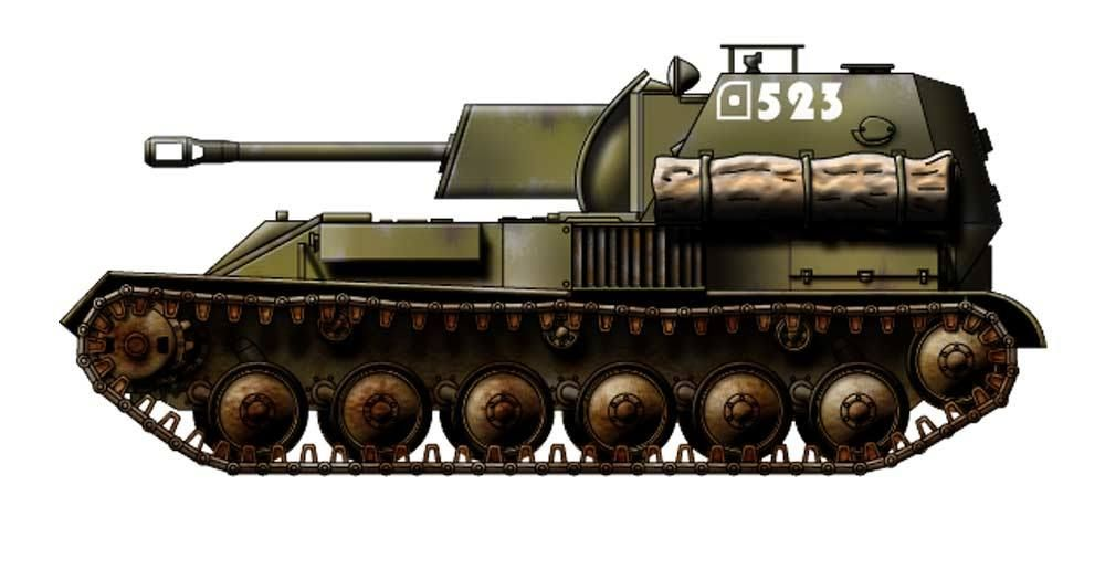 Russia Su76 Tank Destroyer Tank Destroyer Military Vehicles Soviet Tank