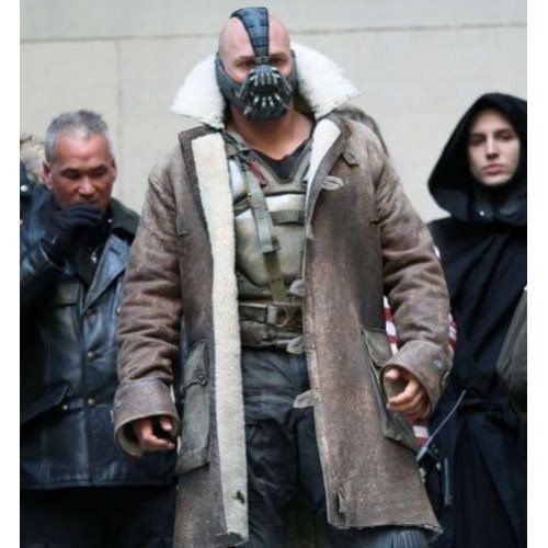 Tom Hardy As Bane Dark Knight Rises Cosplay Trench Coat