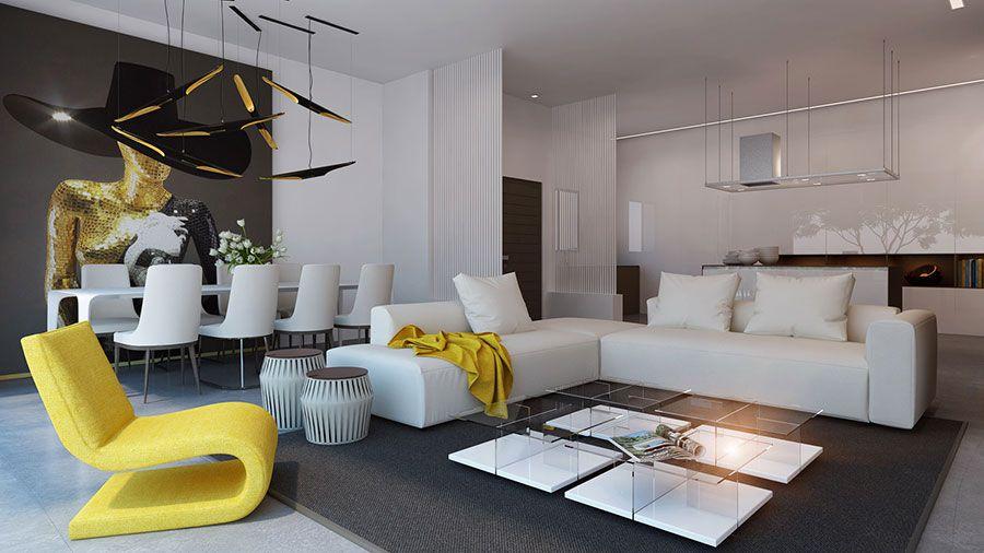 Tante idee di arredamento per cucina soggiorno open space. Come Arredare Open Space Cucina Soggiorno Ecco 40 Idee Fotografiche Soggiorno Semplice Decorazione Di Appartamenti E Arredamento Salotto Idee