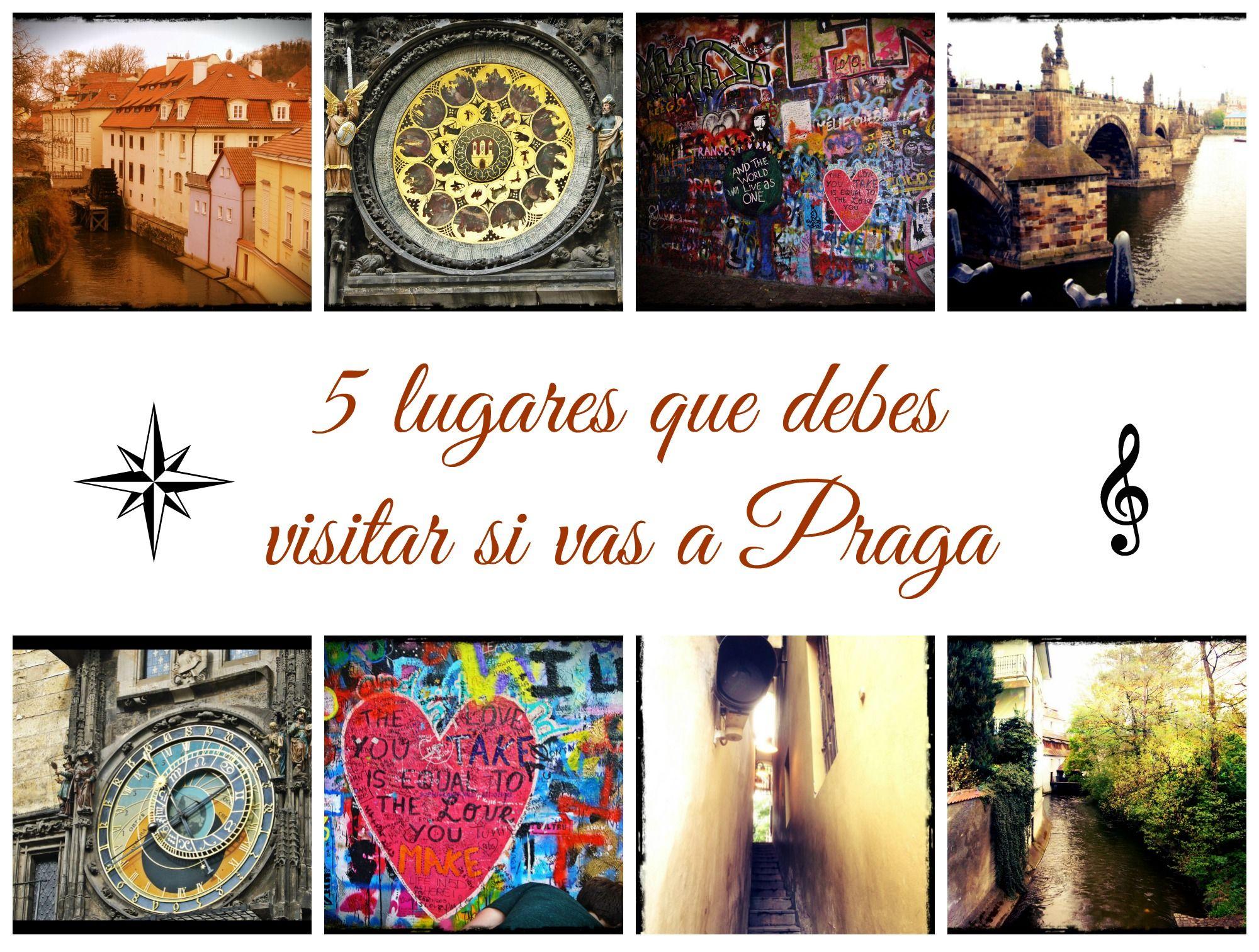 5 lugares que debes visitar si vas a Praga