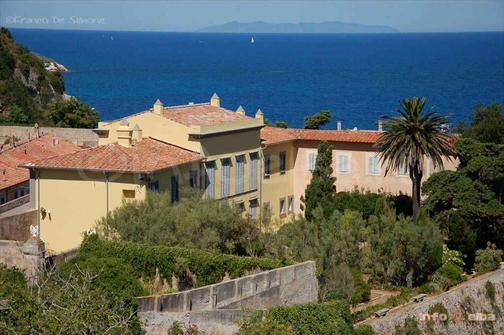 Another view of Napolean's residence in Elba. Built in