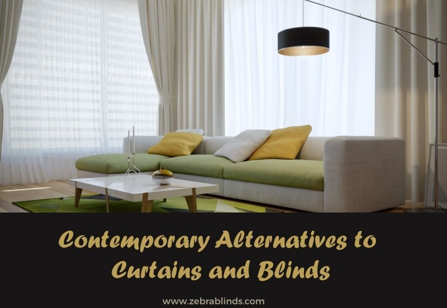 Alternative Window Treatments Contemporary Alternatives To Curtains And Blinds With Images Contemporary Window Treatments Curtain Alternatives Interior Design