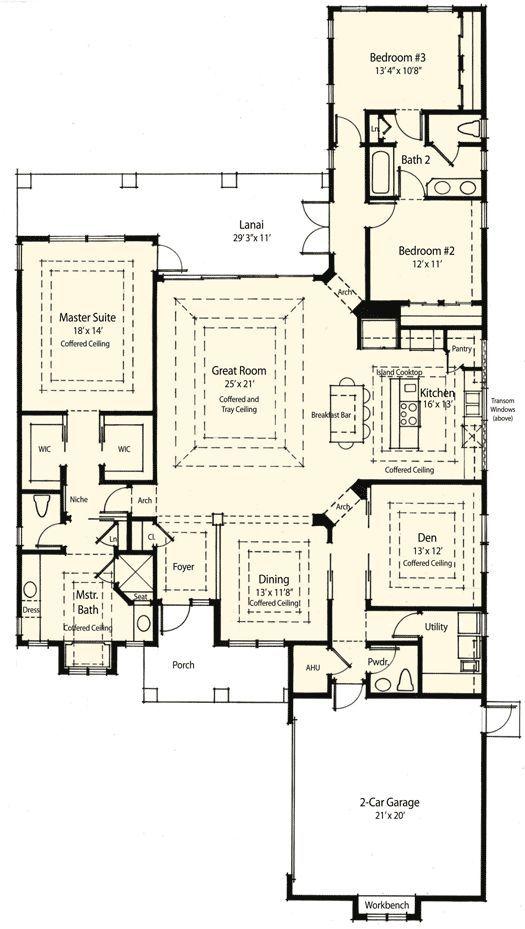 Plan W33028zr Energy Efficent House Home Design Http Interiordesign996 Blogspot Com Energy Efficient House Plans Country Style House Plans Floor Plans