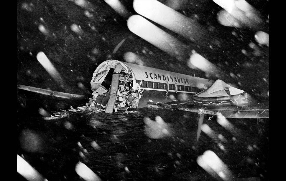 California 13 January 1969 Scandinavian Airlines Flight 933 Crashed In Santa Monic Scandinavian Airlines System Los Angeles International Airport Los Angeles